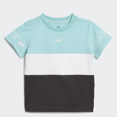 T-shirt Panel Bleu Enfants Originals