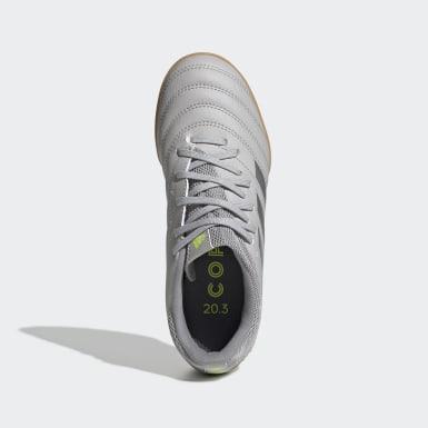 Zapatos de Fútbol Copa 20.3 Césped Artificial Gris Niño Fútbol