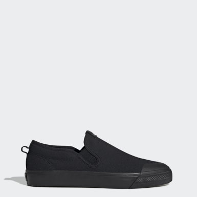 Scarpe Nizza Slip-On Nero Donna Originals