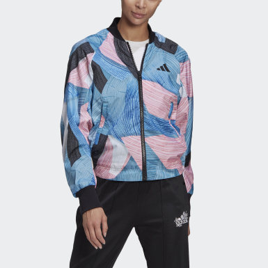 Dam Athletics Multi adidas Sportswear Nini Sum Graphic Bomber Jacket