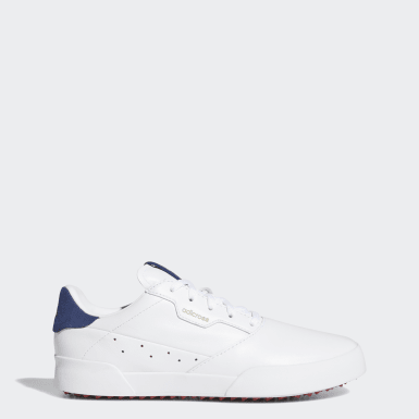 Dam Golf Vit Adicross Retro Golf Shoes
