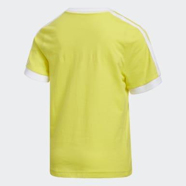 Youth Training Yellow Badge of Sport Ringer Tee