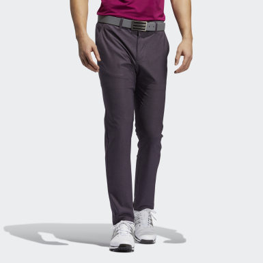Pantalon Ultimate365 Herringbone Violet Hommes Olympic Sports