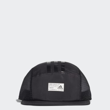 Training Black Five-Panel Power Cap