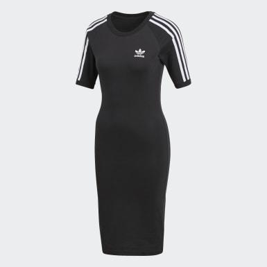 черный Платье 3-Stripes