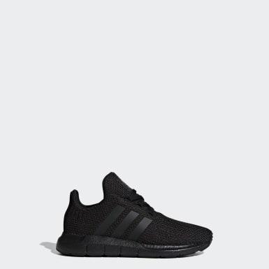 Kids Originals Black Swift Run Shoes