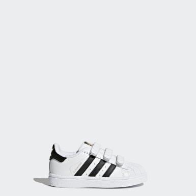 scarpe bambina adidas superstar strappi