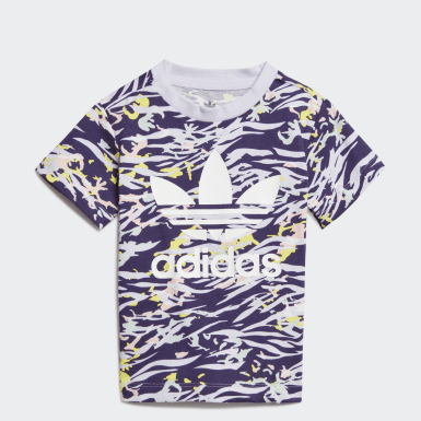 T-shirt Roxo Raparigas Originals