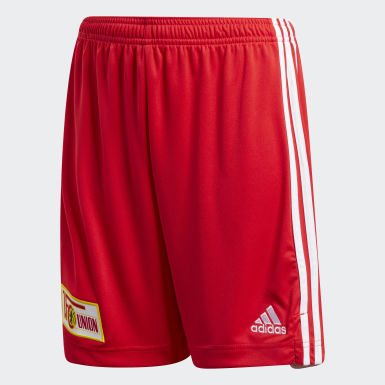 Kids Football Red 1. FC Union Berlin 20/21 Home Shorts