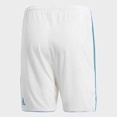 Shorts de Local Real Madrid Réplica Blanco Hombre Fútbol