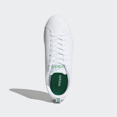 Men Sport Inspired White VS Advantage Clean Shoes