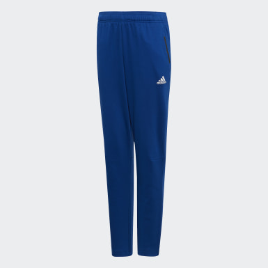 Boys Training Blue Athletics Sport ID Pants