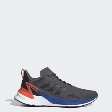 Men Running Grey Response Super Shoes