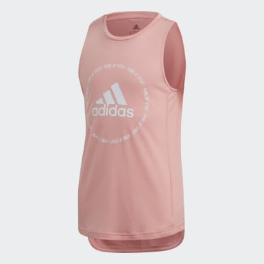 Meisjes Training Roze Bold Prime Tanktop