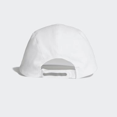 Cappellino da running Bonded Bianco Pallavolo