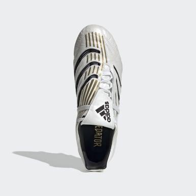 Scarpe da calcio Predator Absolute Firm Ground Bianco Uomo Calcio