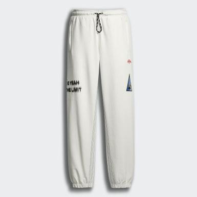 белый Брюки-джоггеры adidas Originals х Alexander Wang