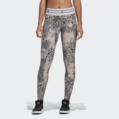 Γυναίκες adidas by Stella McCartney Ροζ adidas by Stella McCartney Future Playground Tights