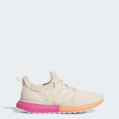 Women Running Beige Ultraboost DNA Shoes