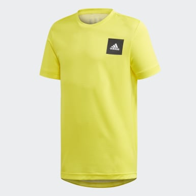 Boys Training Yellow AEROREADY Tee