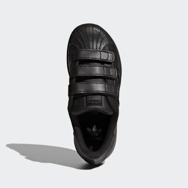 Chaussure Superstar Foundation noir Enfants Originals