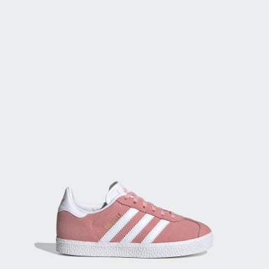 Sapatos Gazelle Rosa Raparigas Originals