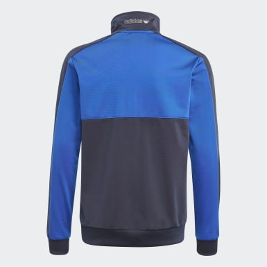 Veste de survêtement adidas SPRT Collection bleu Adolescents Originals