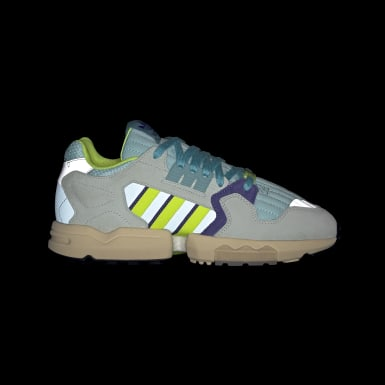 Chaussure ZX Torsion bleu Originals