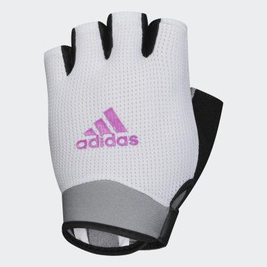 белый Перчатки для фитнеса