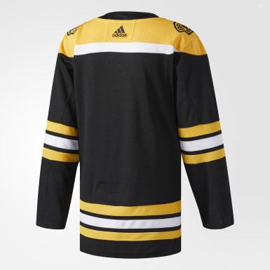 Maillot Bruins Domicile Authentique Pro noir Hockey