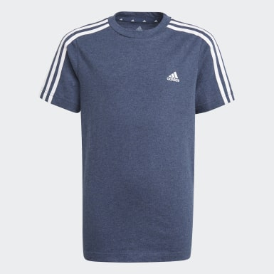 Camiseta adidas Essentials 3-Stripes Meninos Training
