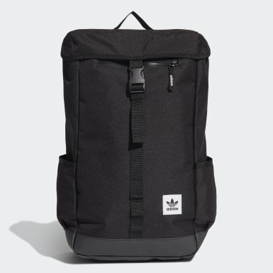 Originals Black Premium Essentials Top Loader Backpack