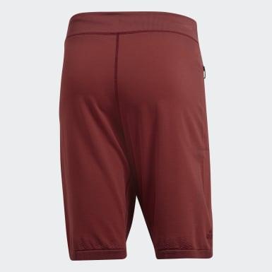 Shorts 4KRFT Primeknit Granate Hombre Training
