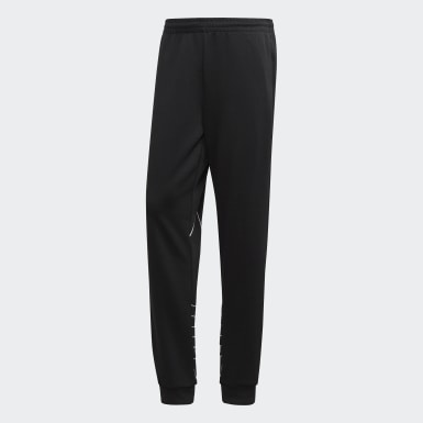 Men's Originals Black Big Trefoil Outline Track Pants