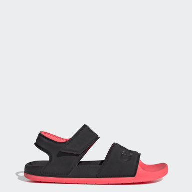 Women's Yoga Black Adilette Sandals