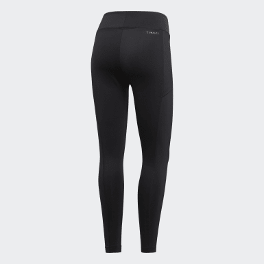 Women Padel Tennis Black Club Leggings