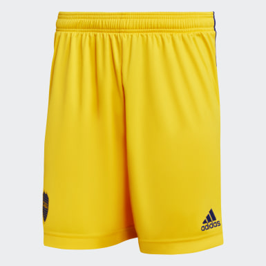 Shorts Tercer Uniforme Boca Juniors 20/21 Amarillo Hombre Fútbol