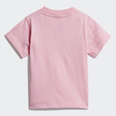 Camiseta Trifolio Rosa Niña Originals