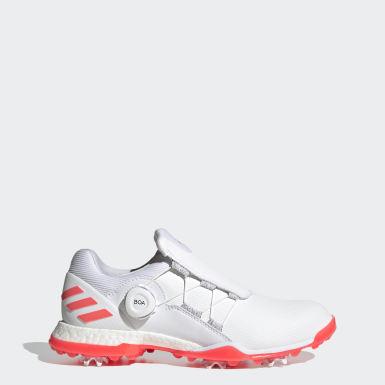 Women Golf White Adipower 5ER Boa Golf Shoes