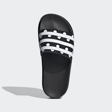 Ženy Originals černá Pantofle Adilette Bold
