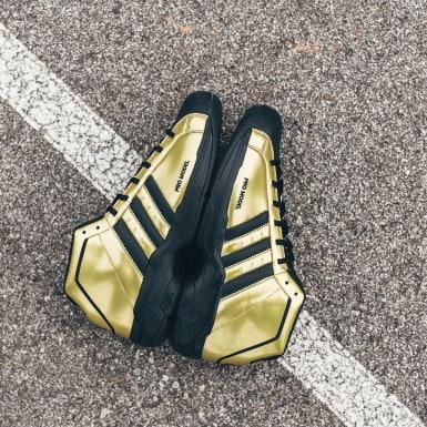 Zapatillas Pro Model 2G Shelltoe 50 Dorado Hombre Basketball