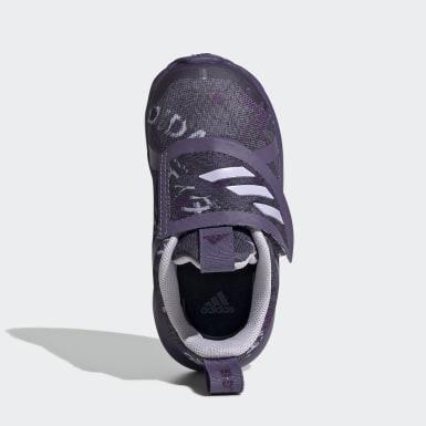 Zapatillas FortaRun X Violeta Niño Running
