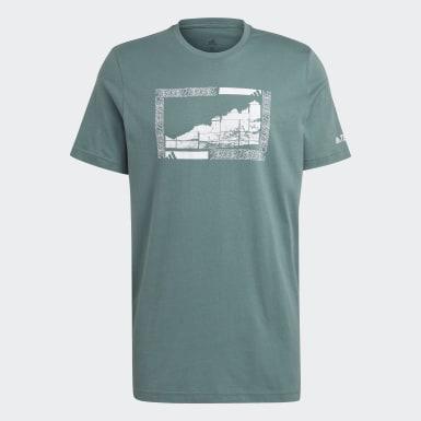 Camiseta Terrex Graphic Verde Hombre TERREX