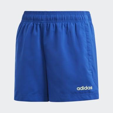 Shorts Climaheat Essentials Azul Meninos Training