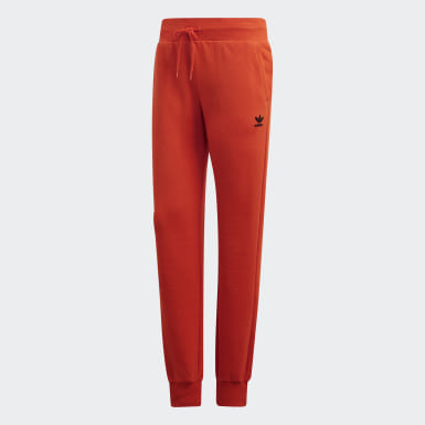 Dames Originals Oranje CUFFED PANTS