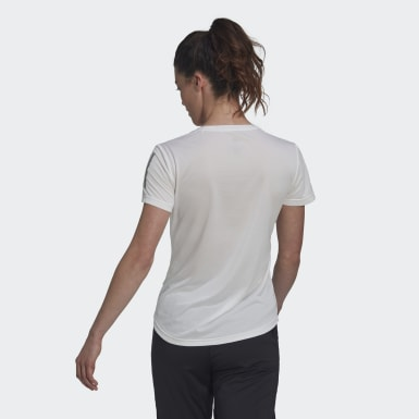 Camiseta Own the Run Blanco Mujer Running
