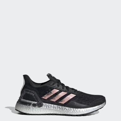 Sapatos Ultraboost PB Preto Mulher Running