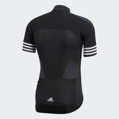 Muži Cyklistika černá Dres Adistar