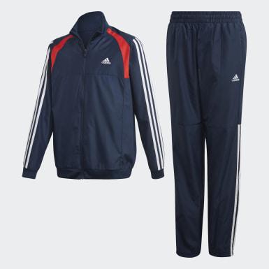синий Спортивный костюм Woven