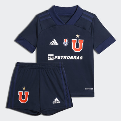 Mini Uniforme Local Club Universidad de Chile (UNISEX) Azul Niño Fútbol
